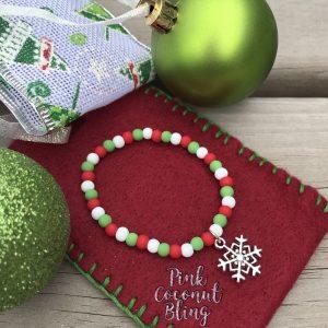 Bracelet Noël Flocon
