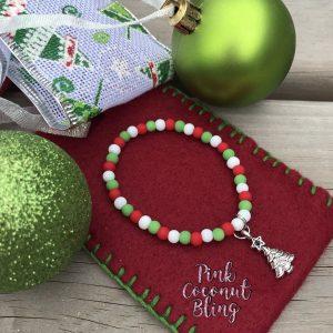Bracelet Noël Sapin