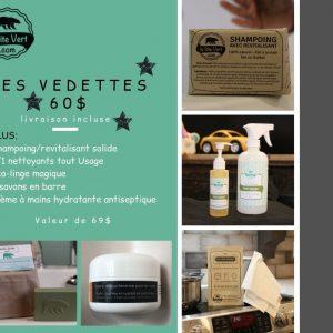 Les produits popupalirs/ Le site vert