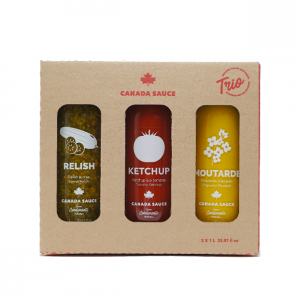 Canada Sauce - Trio 1 L ketchup, moutarde, relish