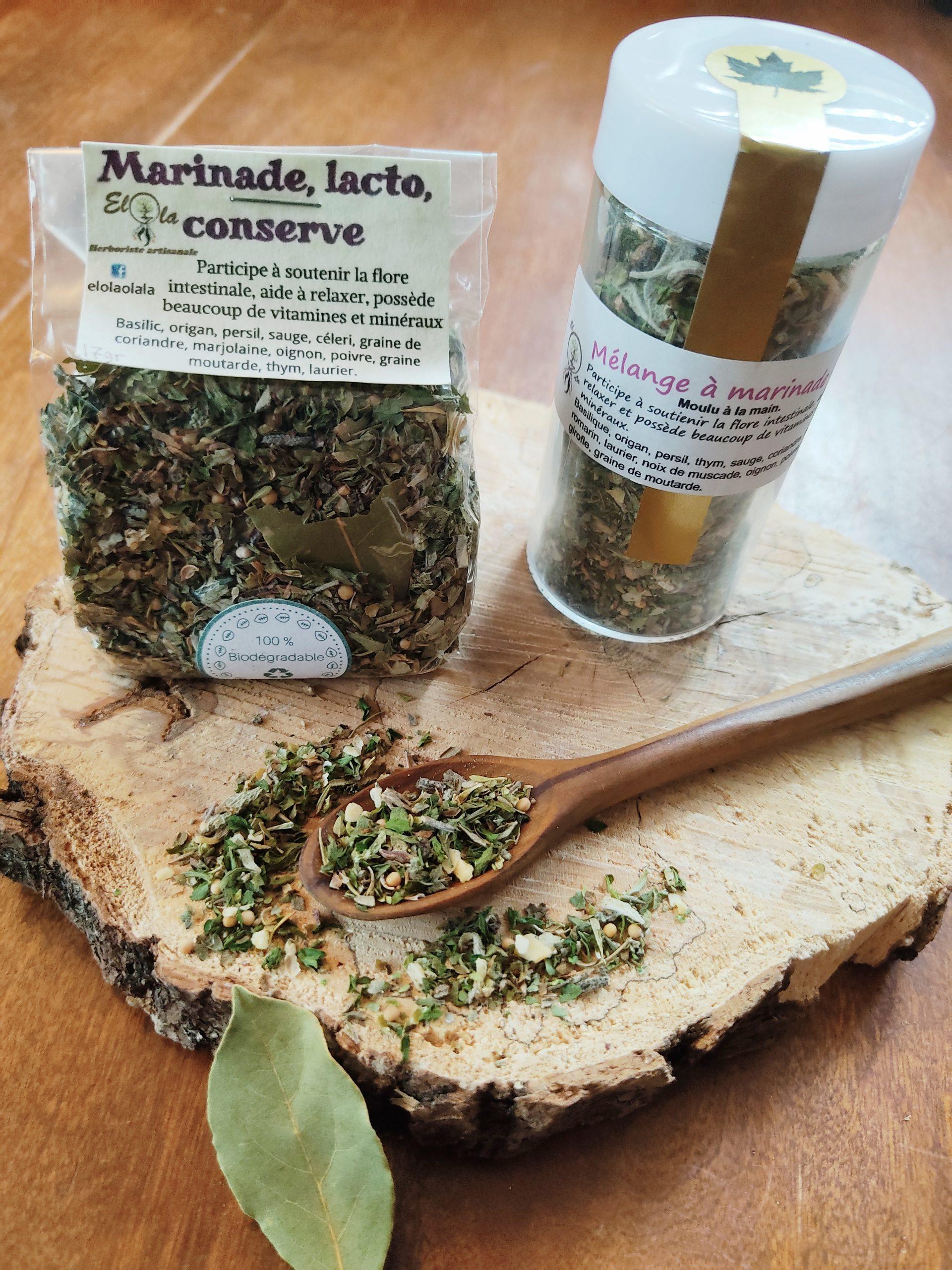 Herboristerie Elola - Épices à marinade, conserve et lacto