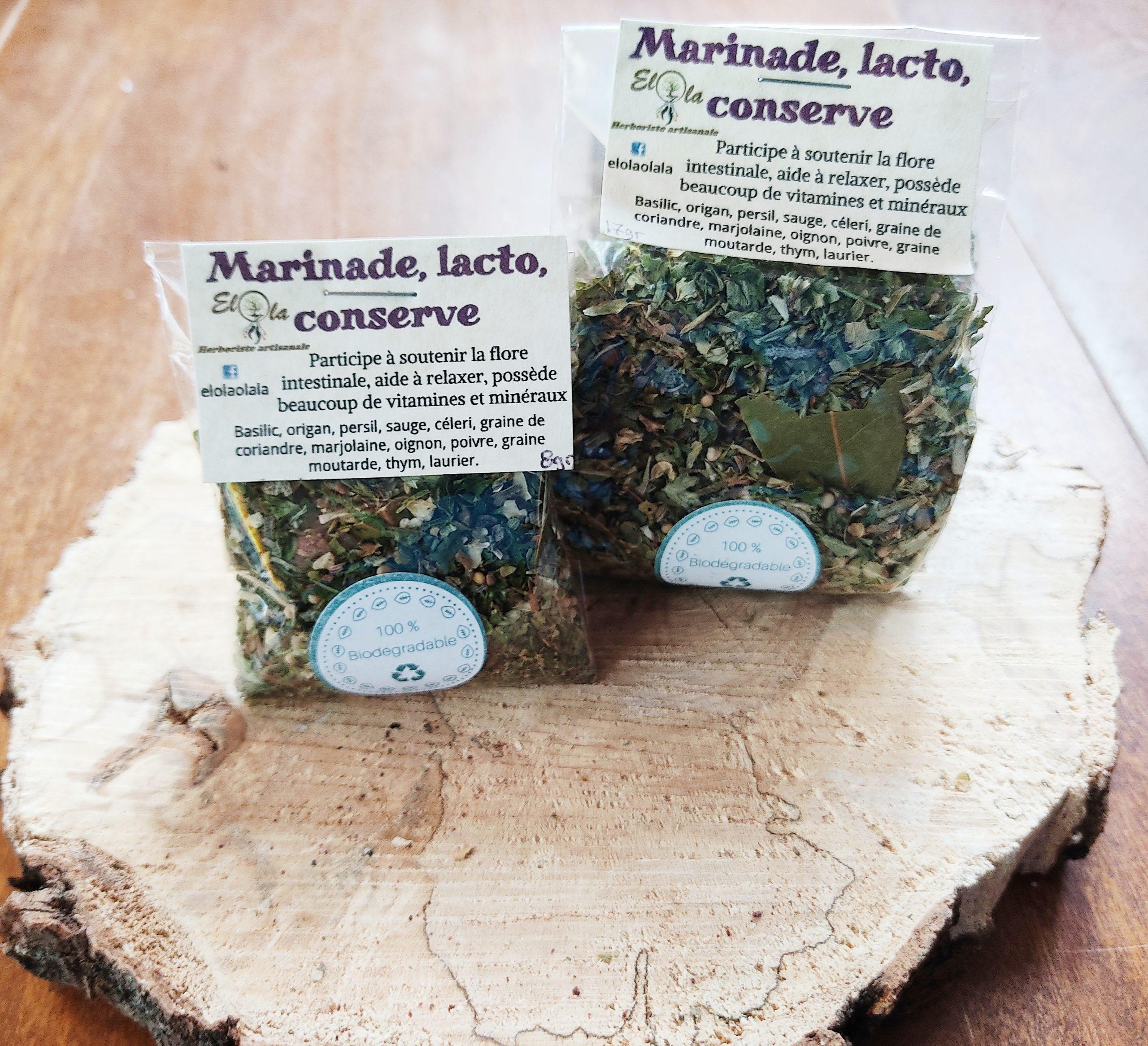 Herboristerie Elola - Épices à marinage, conserve et lactofermentation