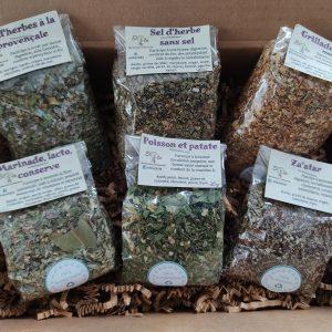 Herboristerie Elola - Boîte découverte d'épices