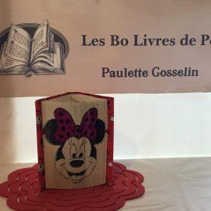 Livre sculpté Les Bo Livre de Popo - Minnie Mouse 2