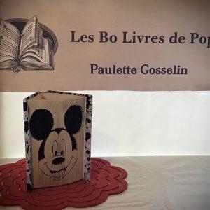 Livre sculpté Les Bo Livre de Popo - Mickey Mouse 2