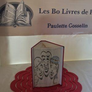 Livre sculpté Les Bo Livre de Popo - Archie, Véronique et Betty Visages