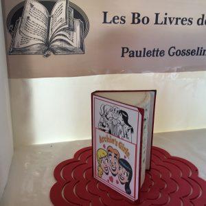 Livre sculpté Les Bo Livre de Popo - Archie, Véronique et Betty 2
