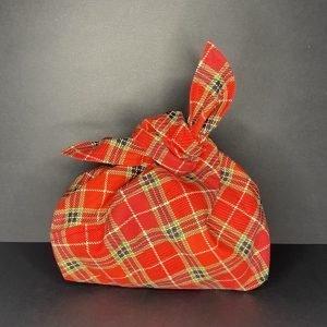 Grand emballage cadeau Tartan de Noël