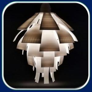 Solutions Efikeco - Lampe Artichaut allumée