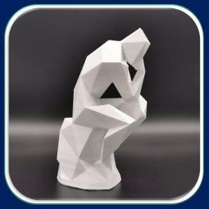 Solutions Efikeco - Le penseur Origami 1