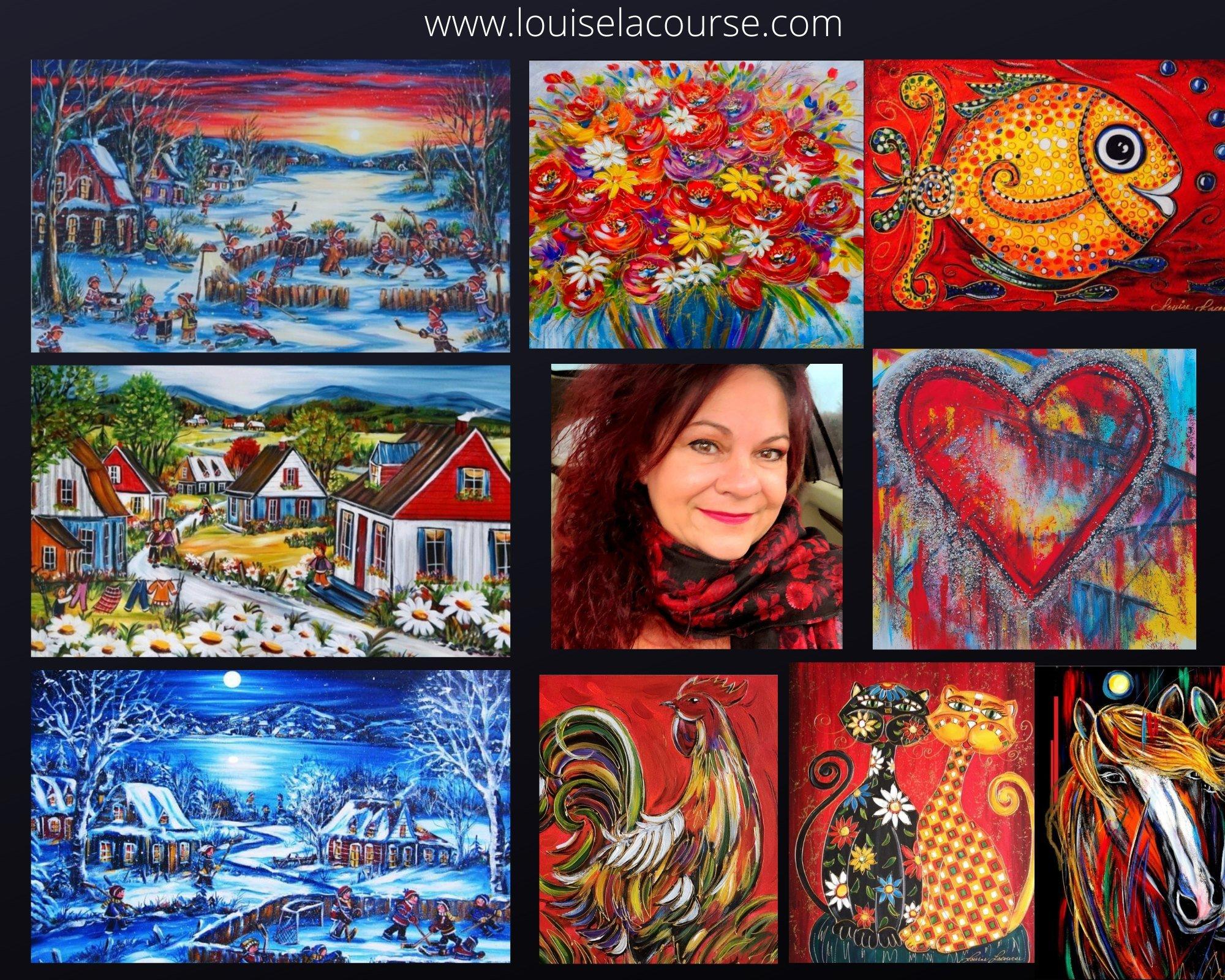 Louise Lacourse Artiste peintre