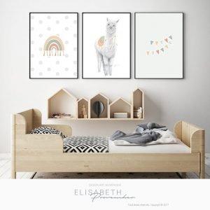 Charmant «DON JUAN» – Affiches décoratives, ensemble de 3